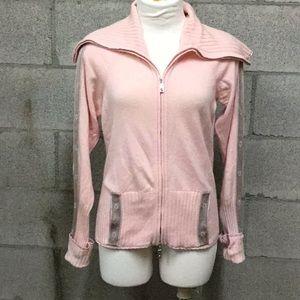 Escada Pink Cardigan